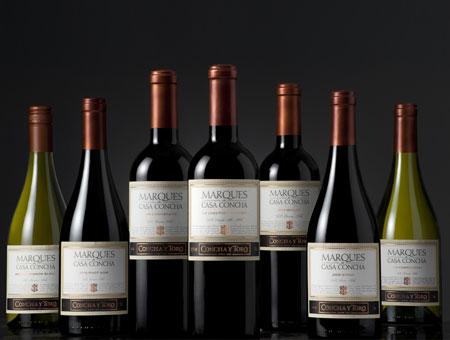 Marques de Casa Concha, řada vinařství Concha y Toro