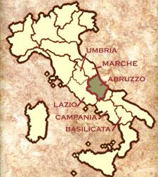 abruzzo mapa